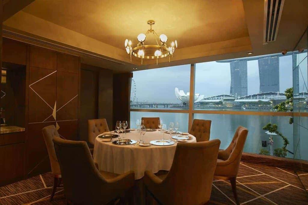 best fine dining restaurants in singapore