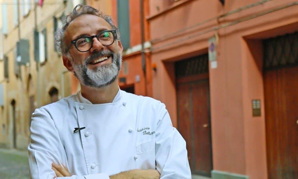 Italian celebrity chef Massimo Bottura
